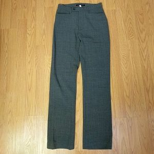 Theory grey wool blend stretch pants sz 0
